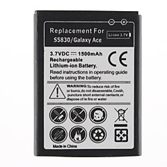 1500mAh Batteri til Galaxy Ace/S5830