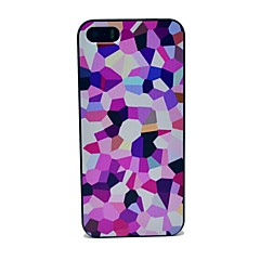 Colorful Square Pattern Hard Case for iPhone 5/5S