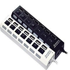7-Port High Speed USB 2.0 Hub Independent Switch