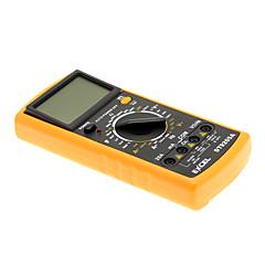 "DT9205A 3 ""LCD Digital Multimeter (Black & Orange)"