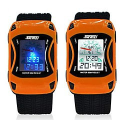 Skmei Children Sports Multifunction 5ATM Waterproof Watch With Black Strap Cool Watches Unique Watches