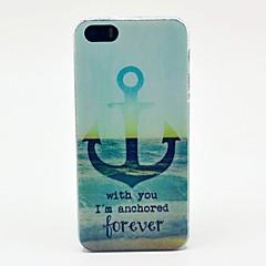 Estou para sempre ancorado Padrão Hard Case para iPhone 5/5S