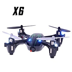 X6 2.4G 4CH RC Quadcopter wtih Camera and Light in Green