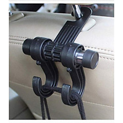 Multi-function Stainless Steel Car Storage Hook Set