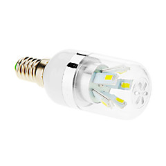 7W E14 LED-kolbepærer T 10 SMD 5630 600-650 lm Kold hvid AC 85-265 V