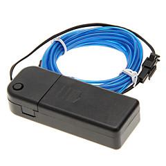 3meter voiture néon lumineux stroboscopique électroluminescent fil (El Wire)