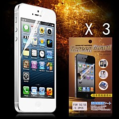 Schutz HD Screen Protector für iPhone 5/5S (3pcs)