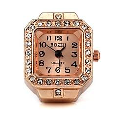 Mujer Reloj de Moda Cuarzo Aleación Banda Cosecha Oro Rosa Marca-