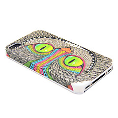 Spesial Shining Eye Monster Pattern vanskelig sak for iPhone 4/4S