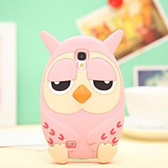 Cute Owl Silikone etuier til Samsung Galaxy S4 i9500 (assorterede farver)