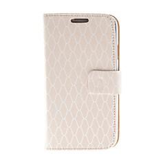 Kinston Rosa Diamant-Muster PU-Leder Ganzkörper-Case mit Ständer für Samsung I9500 S4