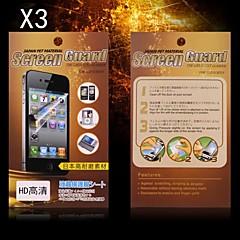 Protecteur d'écran HD de protection pour HTC M8 (3PCS)