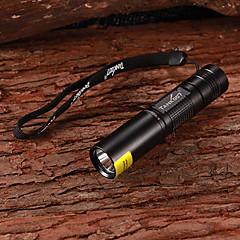 TANK007 1W 365 ~ 370nm LED Purple Light UV Ficklampa (1xAA, 180lm)