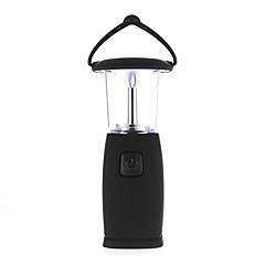 LED al aire libre de la vivac que acampa solar recargable Linterna y ligero de la tienda