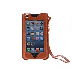 Affaire Full Body style Kinston luxe plein écran tactile en cuir PU avec support pour iPhone 4/4S/5/5S/5C (couleurs assorties)
