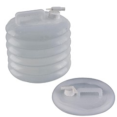 Ακορντεόν jerrycan / συμπίεσης Bucket-διάφανο (15L)