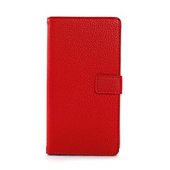 Lichee Pattern Luxury Leather Wallet Stand Case for Sony Xperia Z1 L39H (Assorted Colors)