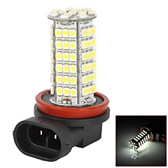 H11 5W 550lm 6000-6500K 102-3528SMD LED White Light Car Dimljus - (2st)