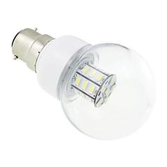 B22 LED-globepærer G60 27 SMD 5730 500 lm Kold hvid Vekselstrøm 85-265 V
