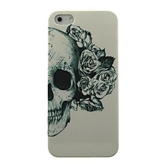 Skull Flower Pattern Hard Case for iPhone5/5S
