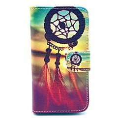 Foreign Dreams Design PU Full Body Case with Card Slot for iPhone 4/4S