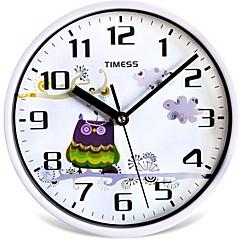 """Timess™ 9""""H Style Guardian Mute Wall Clock"""