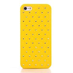 Solide Couleur de cas Diamante Retour pour iPhone5/5S (couleurs assorties)