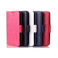 Wax Pattern Wallet Luxury PU Leather Case for Samsung Galaxy Grand 2 G7106(Assorted Colors)