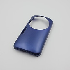Wear-Resistant PC Hard Back Case for Samsung Galaxy K Zoom Dark Blue Color