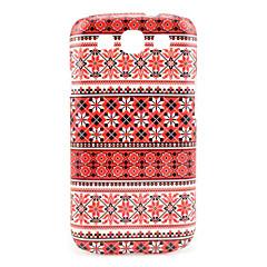 Snowflake Tribal Tattoo Maya Pattern Case Cover for Galaxy 3 I9300