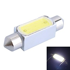 36 milímetros 3W 150LM 150LM 6000K LED branco para carro lâmpada de leitura (DC12V, 1pcs)