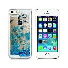 Novità creativa Twinkling Star e cassa del PC di materiale duro Drift Sabbia per iPhone 5/5S (colori assortiti)