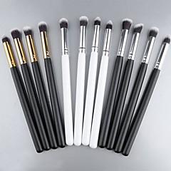 Nuevo Pro cosméticos maquillaje sombra de ojos Foundation Herramientas de madera del cepillo colorete 4 PCs SV000966