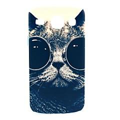 Sunglass Cat Pattern Hard Case for Samsung Galaxy Core I8262