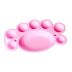 nagel konst paletten målar disktrasor verktyg nagel konst för nagelsalong (slumpvis färg)