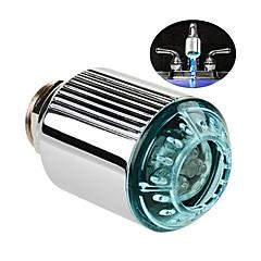 Sin batería que cambia de color de color RGB LED grifo
