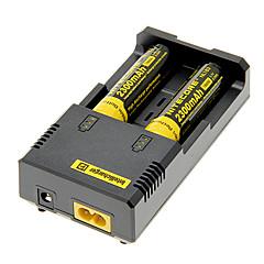 NITECORE NL183 2300mAh 18650 Battery (2 pcs) + I2 Netcore Battery Charger + 2 Pcs / Lot Hard Plastic Storage Battery Box