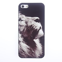 Unique Lion Pattern Aluminium Hard Case for iPhone 5/5S
