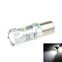 1156 30W 6-LED 2500LM 6500K White Light LED for Car Reversing Light(DC 9-24V)