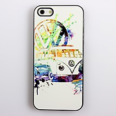 Bus Design Aluminum Hard Case for iPhone 4/4S