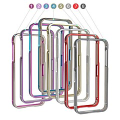 Angibabe 2 in 1 Aluminum Metal Frame Bumper Case for iPhone 5/5S (Assorted Colors)