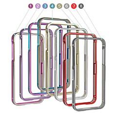 angibabe 2 en 1 cadre en aluminium métallique pare-chocs pour iPhone 5 / 5s (couleurs assorties)
