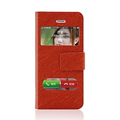 Winnovo  Wallet Styled  Leather Protective Case  for iPhone 4/4S(Assorted color)