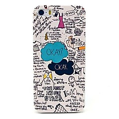 OKay Letter Puzzle Pattern Hard Case For iPhone 7 7 Plus 6s 6 Plus SE 5s 5c 5 4s 4