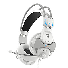 ems707 høj kvalitet on-ear hovedtelefoner med mikrofon til computerspil