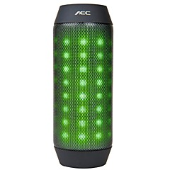 6w do bluetooth alto-falante com fm porto radio / tf para o telefone (luz ajustável azul / vermelho / verde / branco)