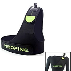 GoPro의 영웅 G-421-G NEOpine 어깨 끈 위장 단일 가슴 어깨 스트랩 마운트 2/3/3는 + 카메라