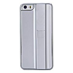Cigarro novidade recarregável Isqueiro caixa de plástico rígido Design Prata para iPhone 5/5S