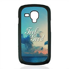 Pilvet ja meri Pattern Hard Case for Samsung Galaxy S3 mini I8190