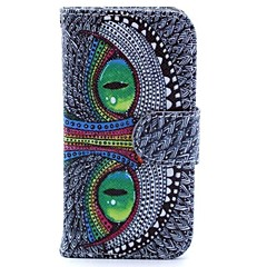 Special Shining Eye Monster  Pattern Full Body Case with Stand for iPhone 4/4S